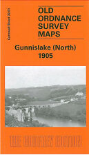 OLD ORDNANCE SURVEY MAP GUNNISLAKE NORTH 1905