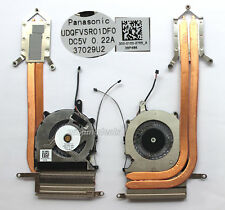 Brand New CPU Cooling fan for Sony VAIO SVP132A1CW SVP1321C5E with heatsink