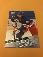 K'Andre Miller 20-21 Upper Deck Young Guns French Rookie Card New York Rangers