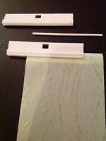 10 x VERTICAL BLIND 3.5 INCH (89MM)DIY HANGERS-FOR REPAIR ETC