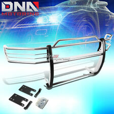 FOR 99-01 DODGE RAM 1500 SPORT CHROME STAINLESS STEEL FRONT GRILL GUARD FRAME