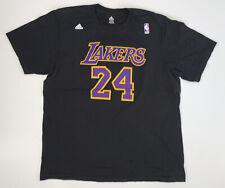 Adidas Los Angeles Lakers Kobe Bryant T-shirt Size 2XL Black