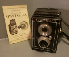 Vintage SPARTAFLEX Box Camera with instructions - UNTESTED
