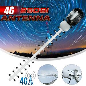 1X SMA Yagi 4G LTE Antenna 25dBi Outdoor Antenna Signal Booster Amplifierc