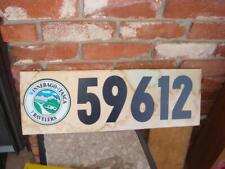 Winnebago Itasca Travelers Pressboard Sign Vintage 24 x 8