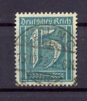 DR 179 Freimarke 15 Pfg. Wz. Waffeln gestempelt KB Weinbuch einwandfrei (ts169)