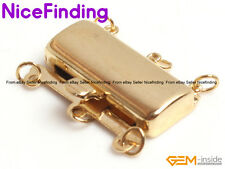 3 Strands 14K Gold Filled Clasp Connector Repair Finding For Jewelry Making DIY