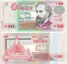 Uruguay - 50 pesos 2003 UNC-pick 84, serie C