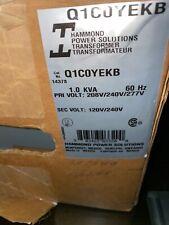 New Hammond Power Solutions Transformer Cat Q1c0yekb Nema 3r 1 Kva