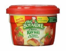 Chef Boyardee Cheese Ravioli 7.5 Ounce Microwavable Bowls (Pack of 12) - NEW