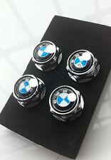 car logo Metal Chrome License Plate Frame Bolt Screws for BMW  blue for a car