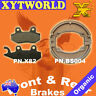 FRONT REAR Brake Pads Shoes for HONDA CB 125 F (GLR 125 1WHF) 2015 2016