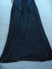Ladies long black dress size XXL