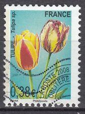 FRANCE TIMBRE  OBL PREOBLITERE  N° 254    FLEUR TULIPE