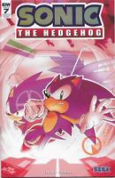 Sonic the Hedgehog #7 IDW Foil Convention Exclusive Variant SDCC 2018 SEGA