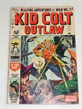 KID COLT OUTLAW #33 FN- (5.5) JANUARY 1954 MARVEL ATLAS COMICS **
