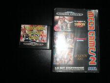 Mega Drive -  mega ganes 2 - boxed golden axe shinobi streets of rage