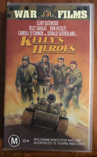 KELLY'S HEROES CLINT EASTWOOD ORIGINAL RELEASE BRAND NEW RARE PAL VHS VIDEO