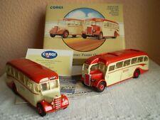 Corgi Classics : 70th Anniversary Premier Bus Set : Bedford OB & Leyland Tiger