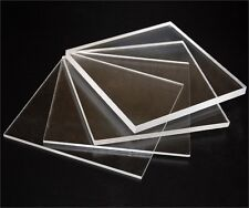 Pack of 2 A4 size Acrylic Clear 210x297x3mm CAST Sheet UV Stable Free POSTAGE