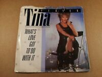 "Tina Turner : What's Love Got To Do With It : Vintage 7"" Single from 1984"