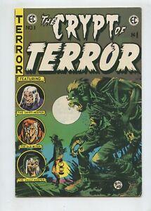 The Crypt of Terror #1 (1973) EC East Coast Comix FN- 5.5