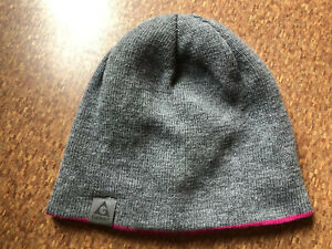 GERRY REVERSIBLE KNOT HAT GRAY or PINK ONE SIZE