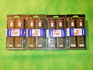 Kingston KTH-MLG4/8G 8GB Memory 348106-B21 ECC REG    NEW    LOT OF 4 kits   @2