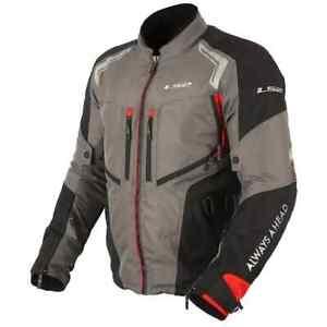 LS2 Apparel - Gallant - Dark Grey - Motorcycle Adventure Touring Man Jacket