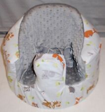 New Bumbo Floor Seat Cover • Forest Critters • Safety Strap Ready