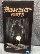 Friday the 13th - Part 3 (VHS, 1988)
