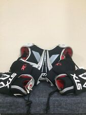 Stx Lacrosse Clash Padding With Stx Gloves And Knee Pads