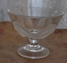 Mikasa Crystal Footed Bowel with Frosted Leaves Candy Nuts Fruit Dish