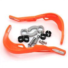 Orange Brush Handguards Hand Guards For KTM 125 150 250 300 400 450 505 525 530