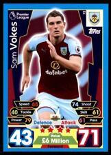 Match Attax 17/18 Sam Vokes Burnley No. 72