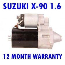 SUZUKI X-90 1.6 16V 1995 1996 1997 REMANUFACTURED STARTER MOTOR