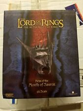 Lotr Sideshow Weta Lord Of The Rings Helm Of The Mouth Of Sauron 1/4 Scale #1949
