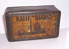 Uralte 100er Cigaretten Blechdose Kalif von Bagdad Yenidze Dresden Busiri 1920er