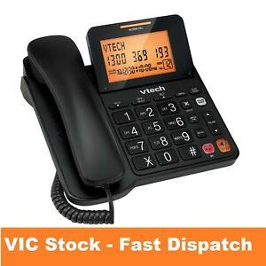 Large Display Home Phone CORDED Landline Telephone Office Desk Wall Big Screen