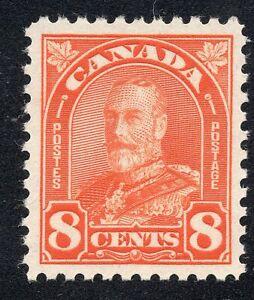 Canada #172 8c King George V KGV Unused Scott CV $8.50