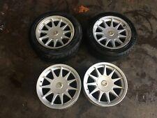 "BMW E30 M3 16"" Hartge staggered alloy wheels & caps 5x120 E24 E28 E34 Alpina BBS"