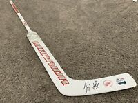 JIMMY HOWARD Detroit Red Wings All Star SIGNED Autographed Goalie Stick w/ COA