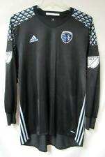 Adidas Sporting Kansas City Mens Sz 12 (2XL) Long Sleeve Adizero Jersey A1 1393