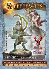 Sphere Wars TIR´ABE The Beast Scions of Kurgan metal miniature new
