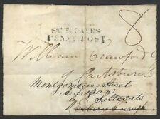 GB 1833 Front SALTCOATES PENNY POST