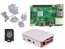 Raspberry Pi 3 Model B plus (2018 Modell) - Weiß Case offiziellen 16GB Starter Kit