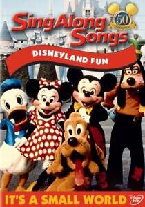 DISNEY SING ALONG SONGS DISNEYLAND FUN New Sealed DVD