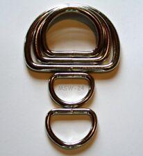 4 x D-Ringe,E//vermessingt 40x6,2mm geschweißt
