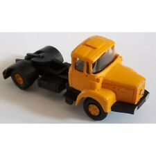 CHO902- Tracteur 4*2 RENAULT TLM - jaune - ready monté- HO 1/87eme -CHO902
