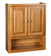 Bathroom Wall Cabinet 21x26 Oak